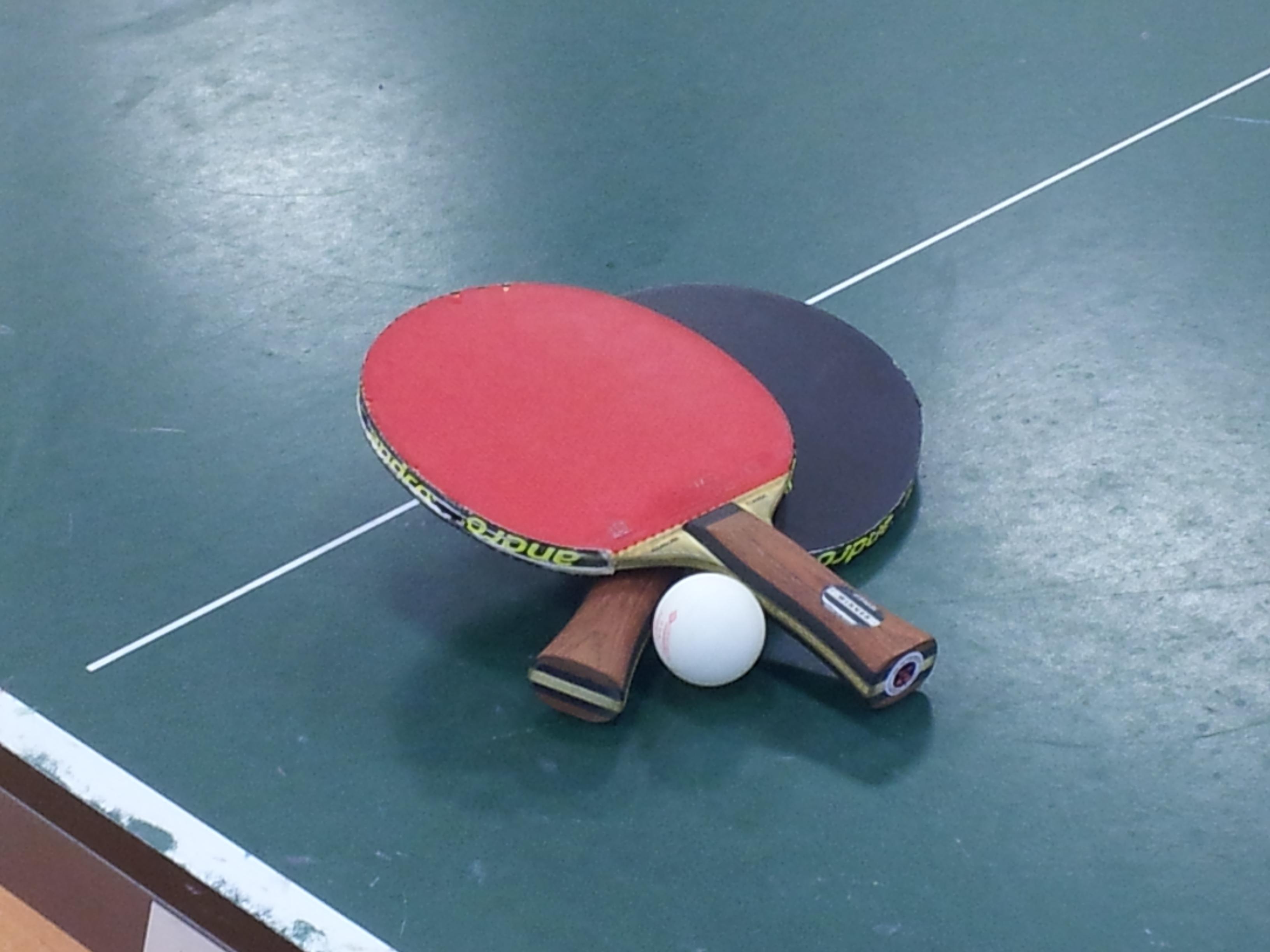 Tischtennis-Symbolbild